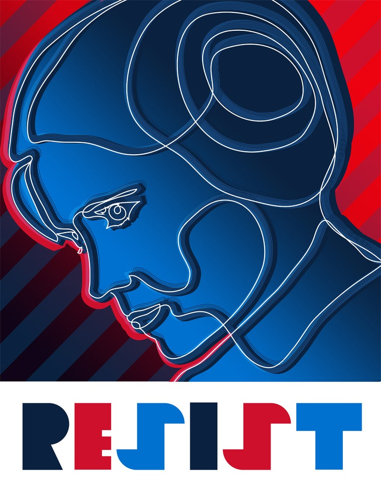 "Image of ""Resist"" Poster"