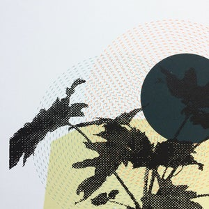 Image of Affiche sérigraphie Tropics