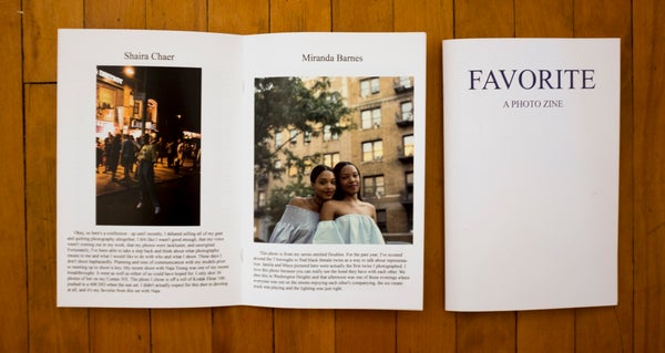 Image of FAVORITE: A Photo Zine