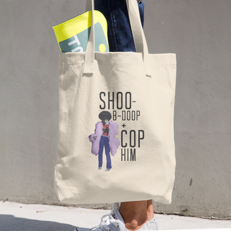 "Image of Betty Davis / ""Shoo-B-Doop + Cop Him"" Tote"