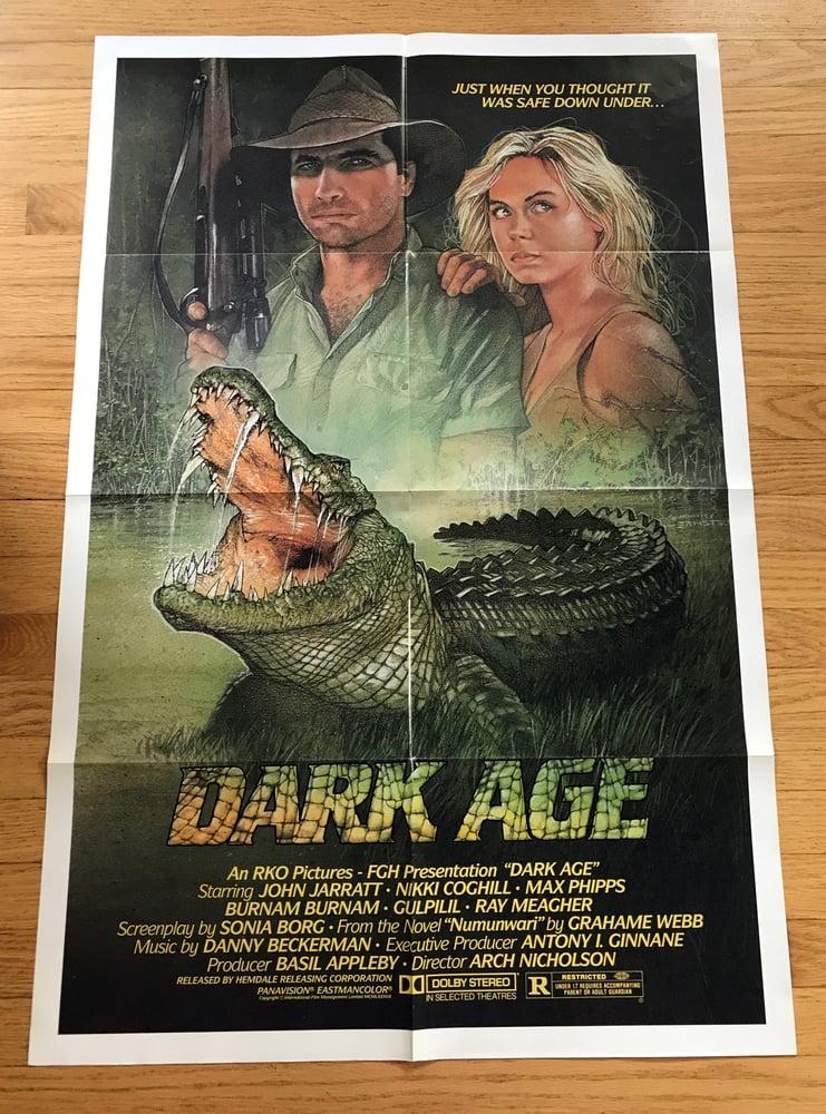 Image of 1987 DARK AGE Original U.S. One Sheet Movie Poster