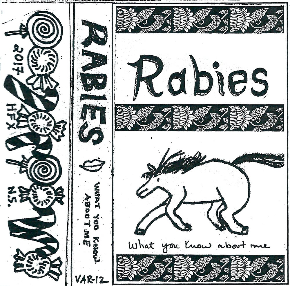 """Image of Rabies """"What You Know About Me"""""""