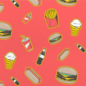 Fast Food | All-over print