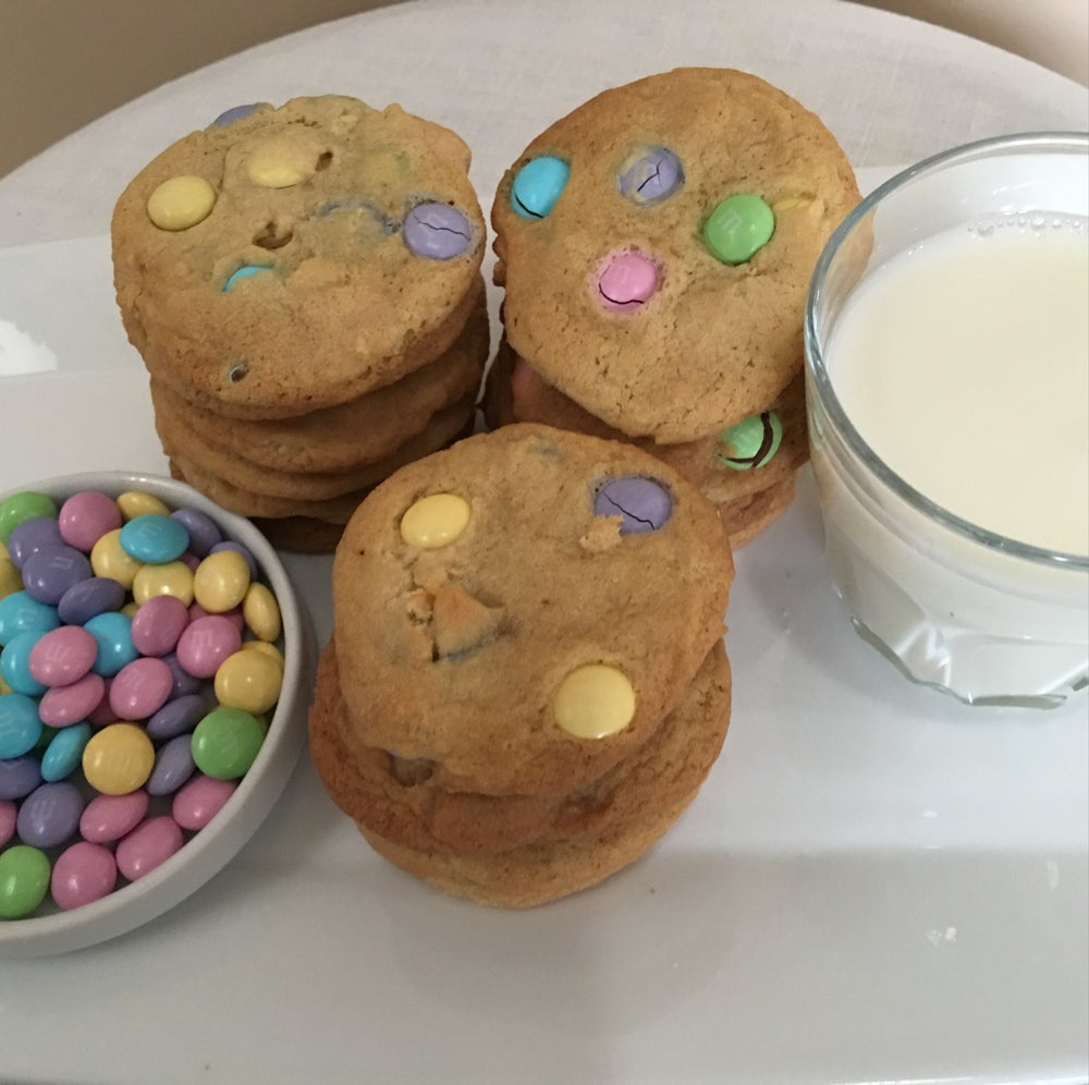Image of M&M Cookies (TWO DOZEN)