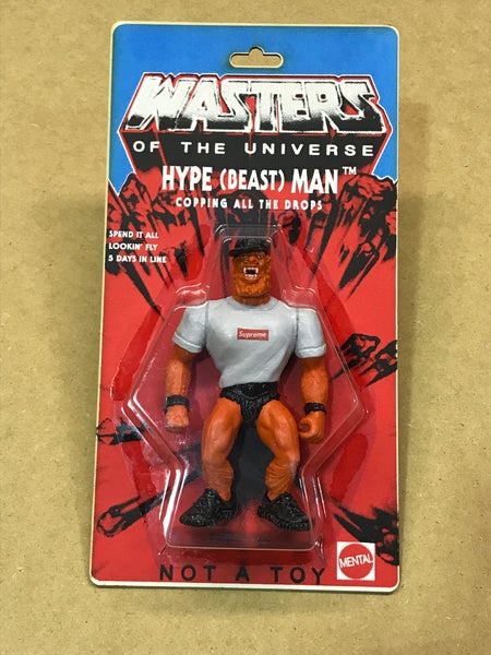 Image of WASTERS of the UNIVERSE - HYPE (BEAST)MAN