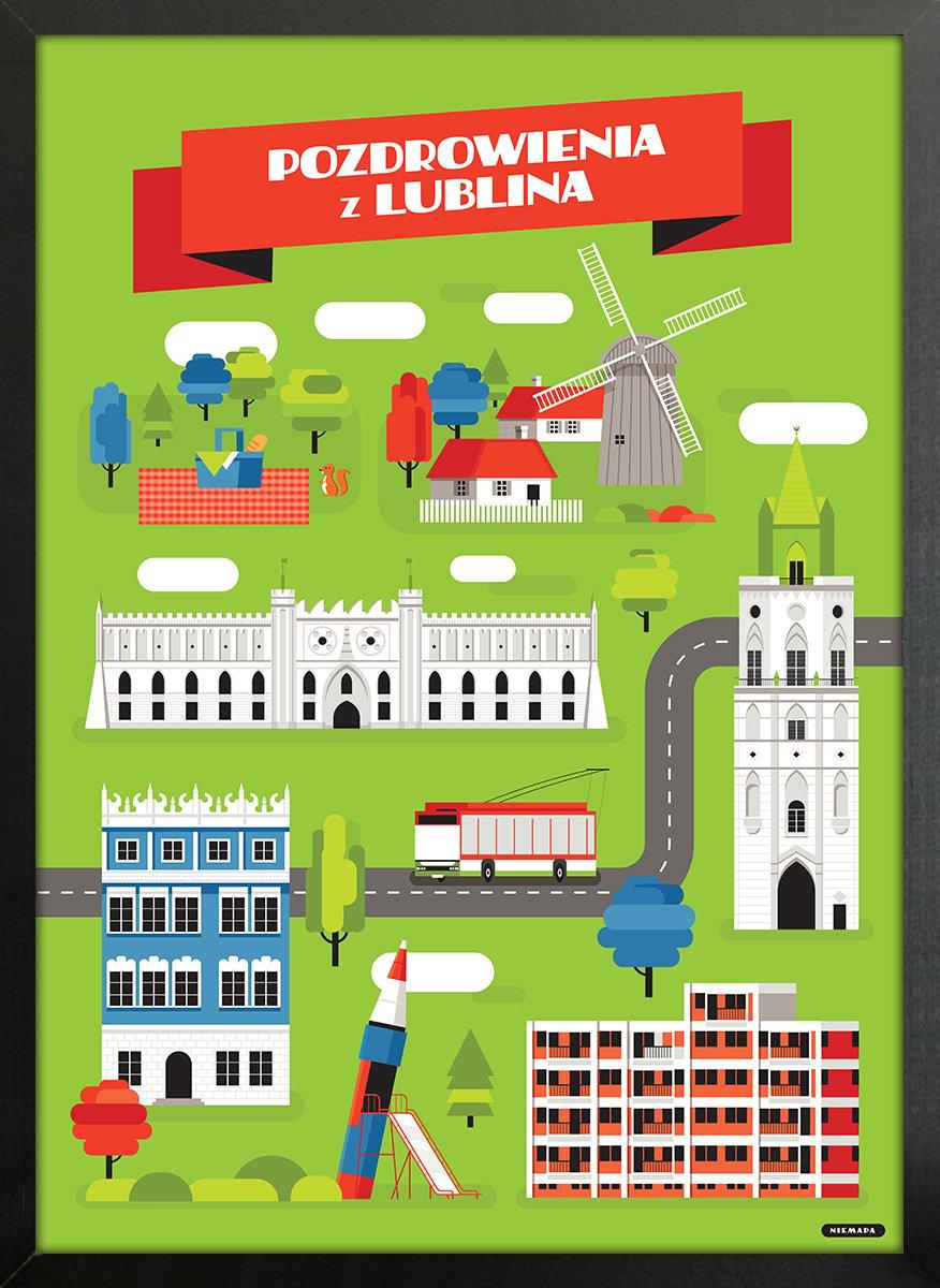 Image of Lublin // NIEMAPA