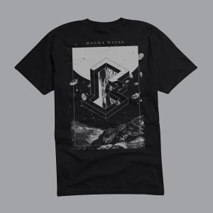 "Image of MAGMA WAVES ""...and who will take care of you now"" T-SHIRT"