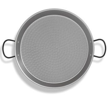 Image of Polished Steel Paella Pans made in Spain , MANY SIZES AVAILABLE