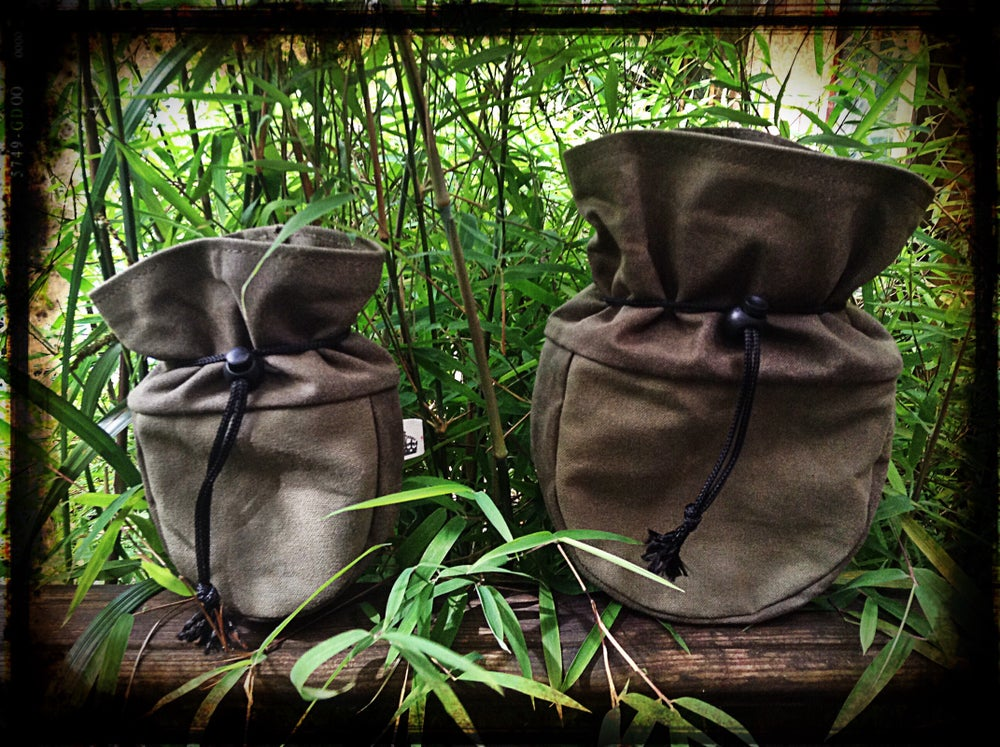 Image of Belt Looped Canvas Sami Pouch Set