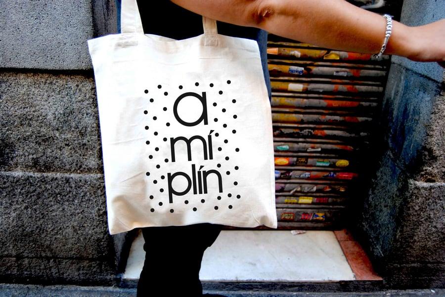 """Image of Bolso """"A mí plín"""""""