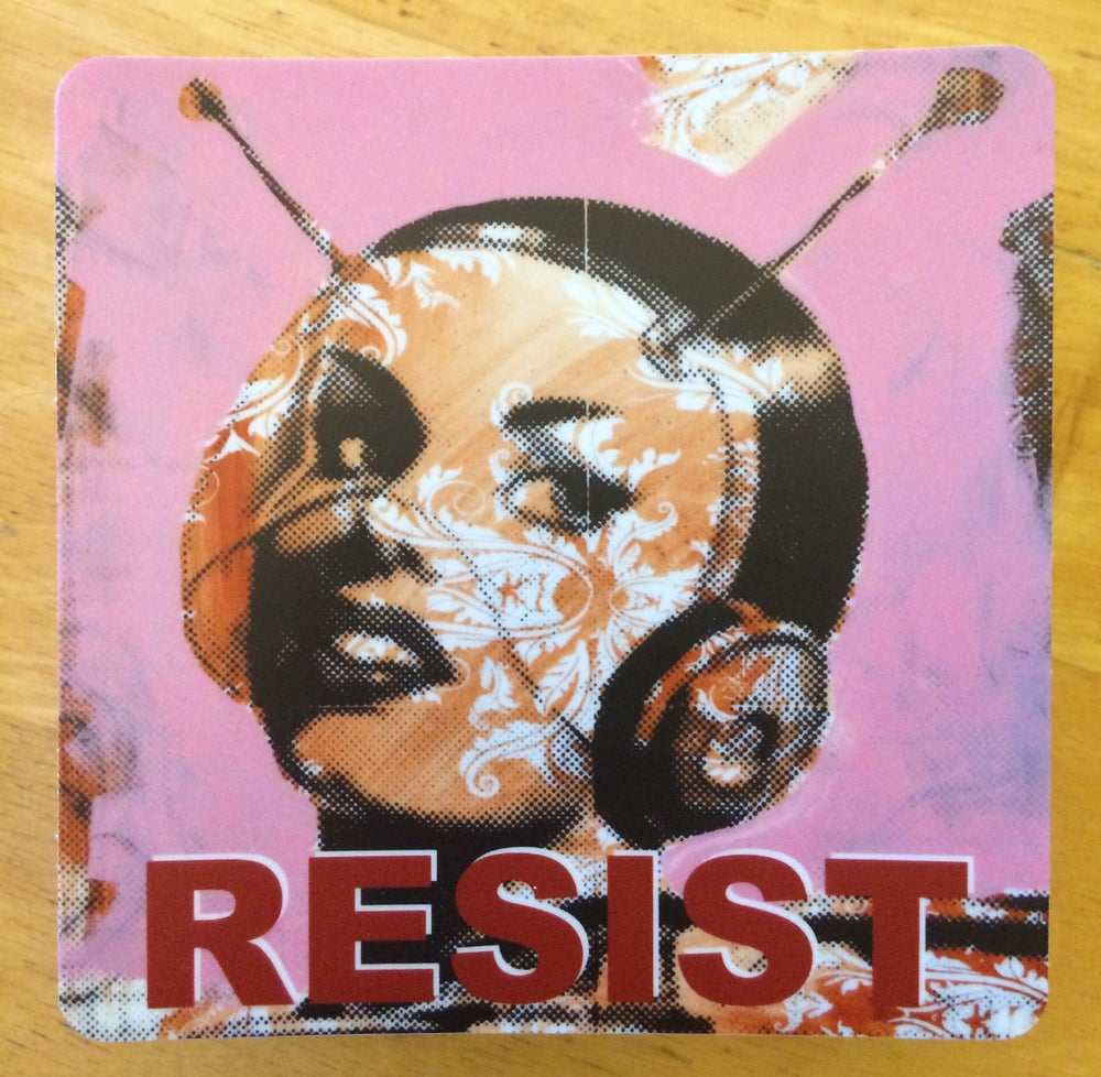 Image of Resist Sticker (Single)