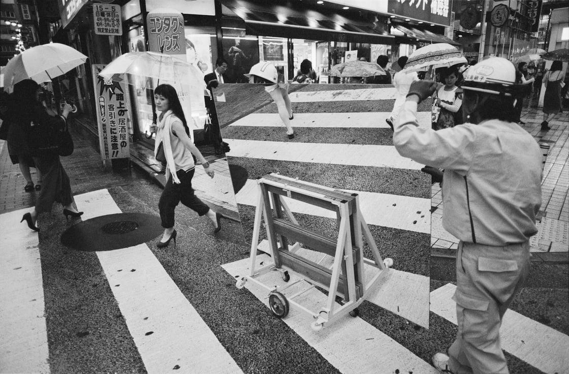 "Image of Print ""Crossing in Shibuya, Tokyo 2016"""