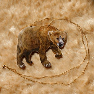 Image of Grizzly Bear necklace