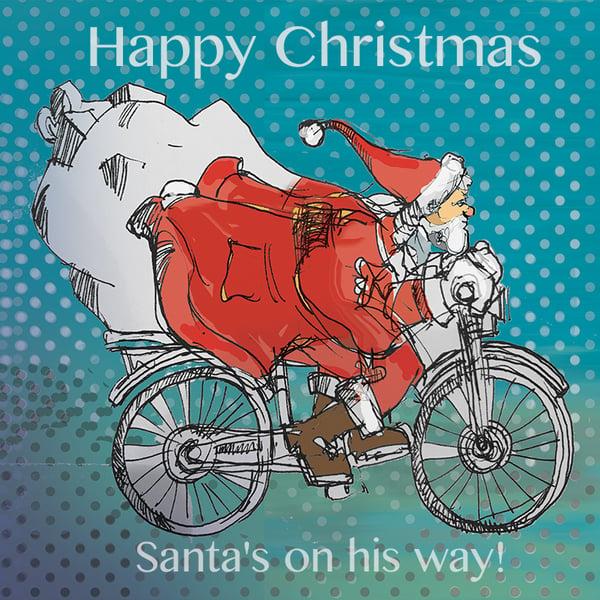 Image of Santa's Bicycle - Bike journey