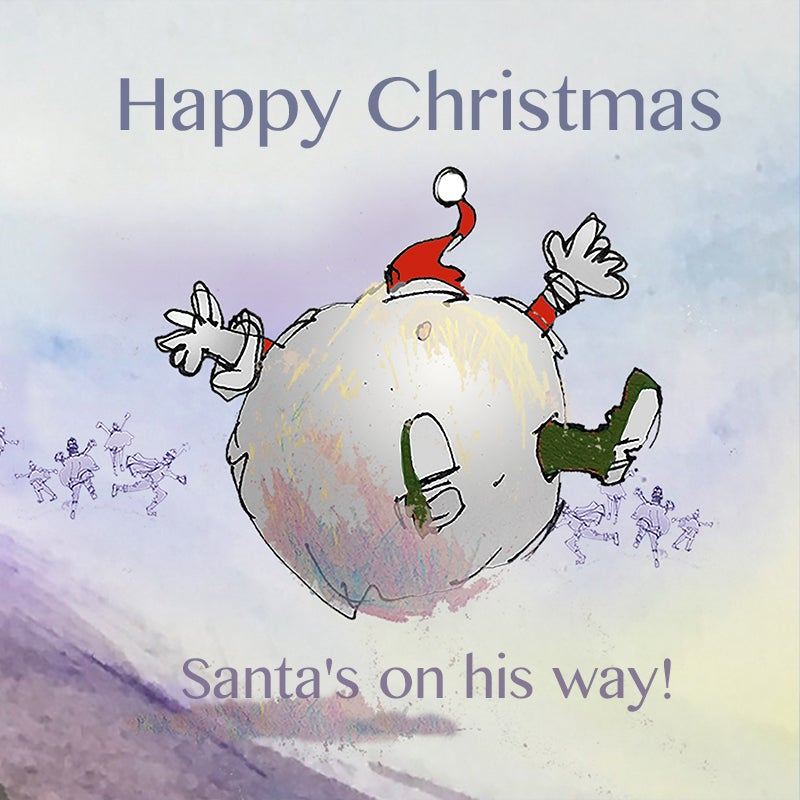 Image of Santa's Bicycle - Snowball journey!