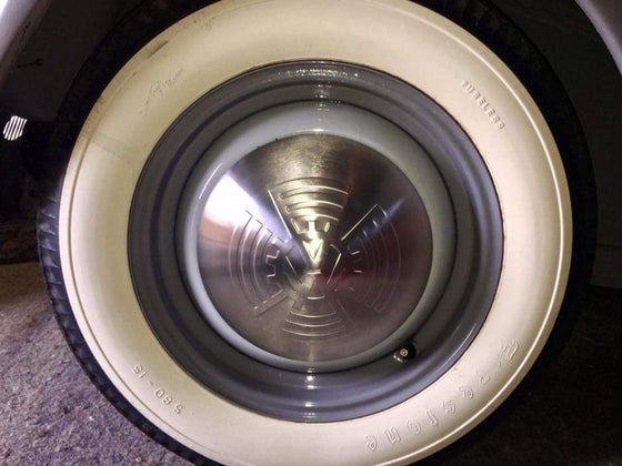Image of KDF VW COG WHEEL HUB CAPS (SET OF 4) - POLISHED OR SATIN FINISH