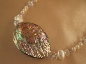 Image of Abalone Necklace