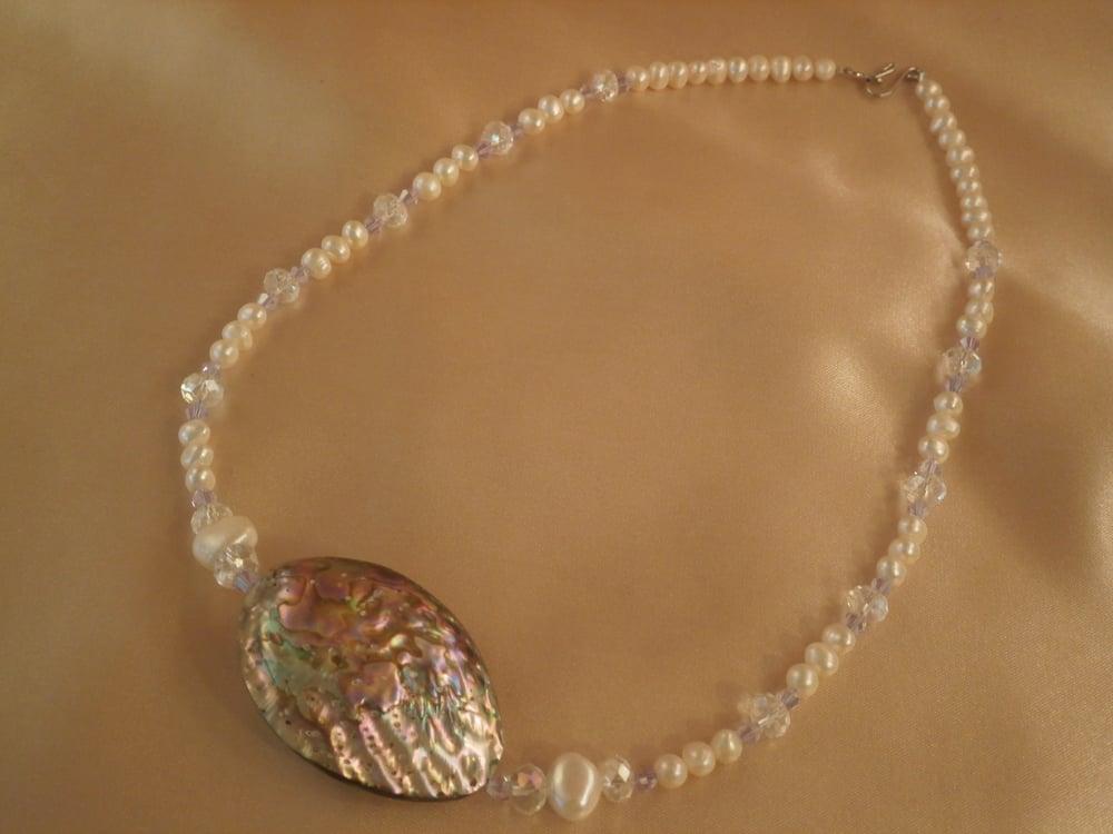 Image of Abalone Necklace