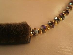 Image of Sealskin Crystal Necklace