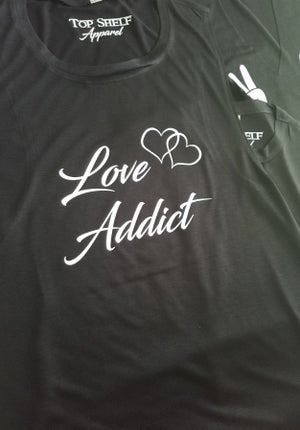 Image of LOVE ADDICT - flowy racerback