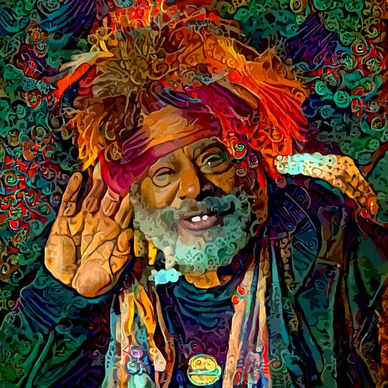 Image of GEORGE CLINTON~ THE GRAND POOBAH OF ALL THINGS FUNK~20 to 125 USD