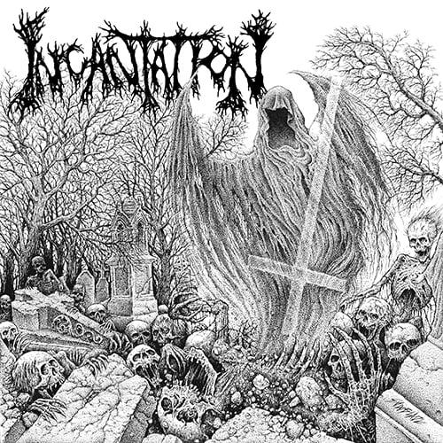"""Image of Incantation """" Rotting Spiritual Embodiment """" CD"""