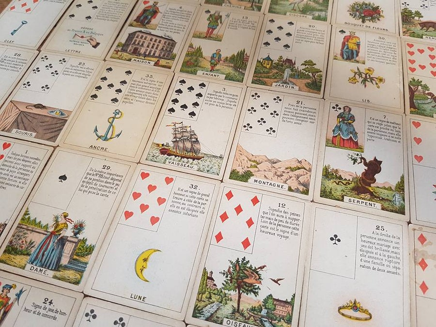 Image of Lenormand Grand Tableau - 6 month forecast