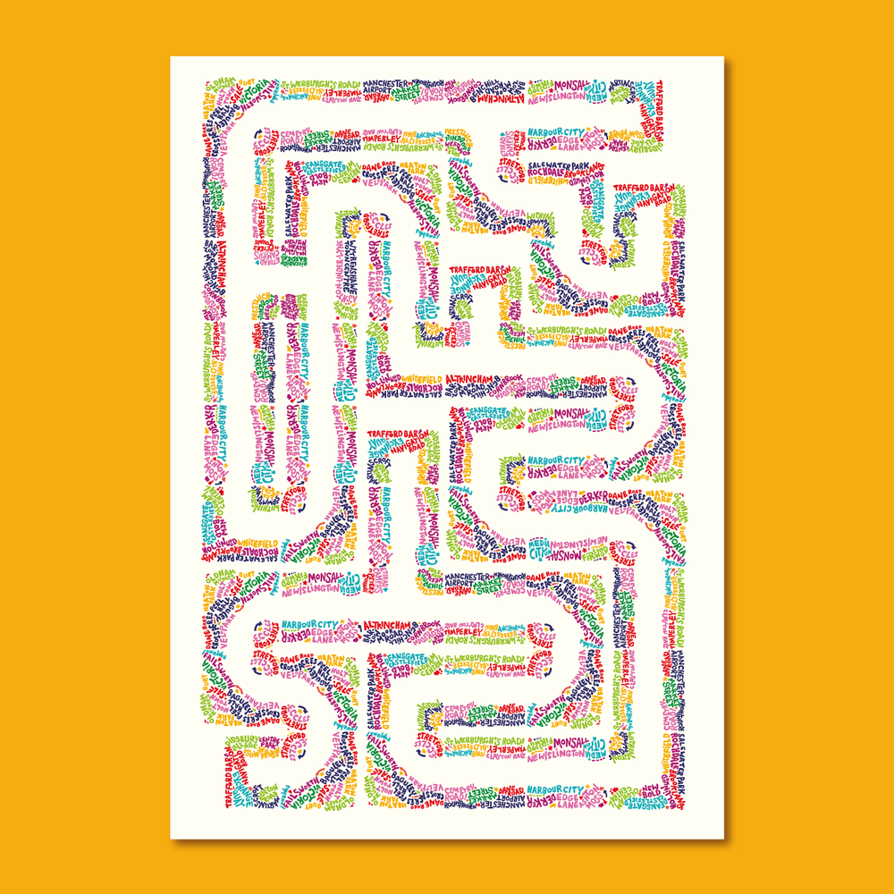 Image of Mancunian Maze — Barney Ibbotson + Dan Hett