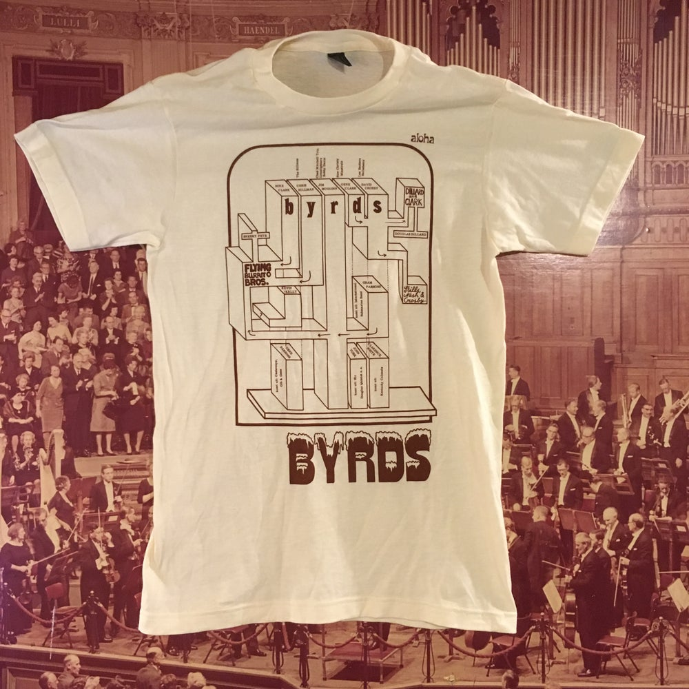 Image of Byrds Family Tree Shirt *free shipping*
