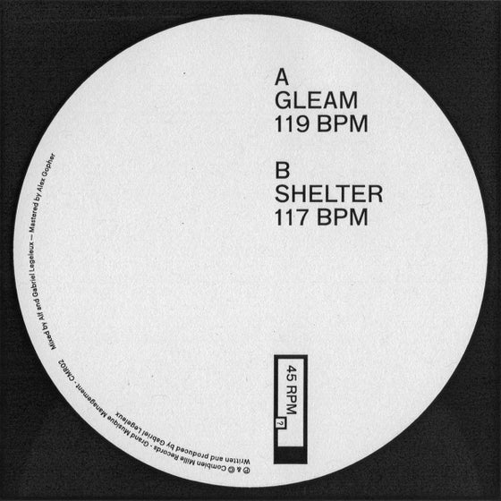 Image of Gleam / Shelter EP (vinyl)