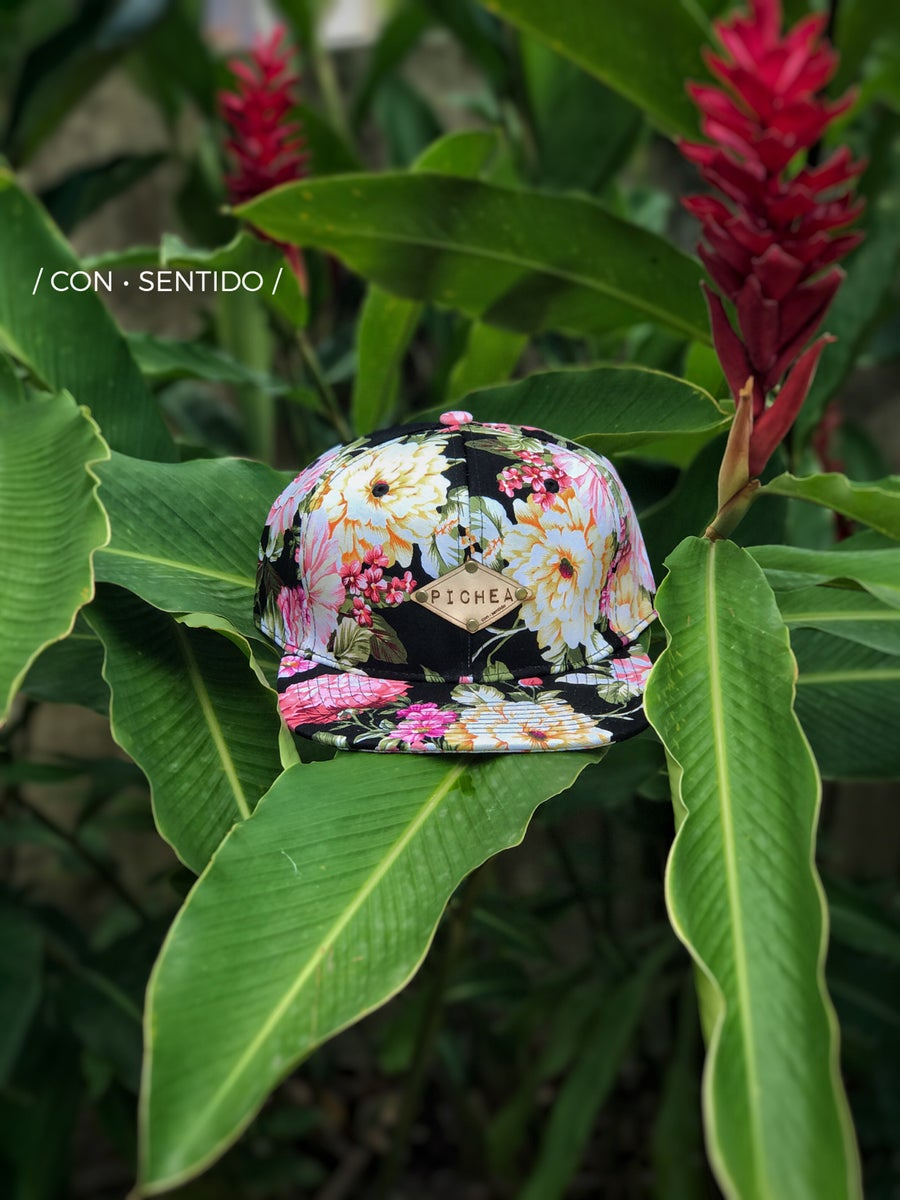 Image of La Tropical Pichea Leather Hat