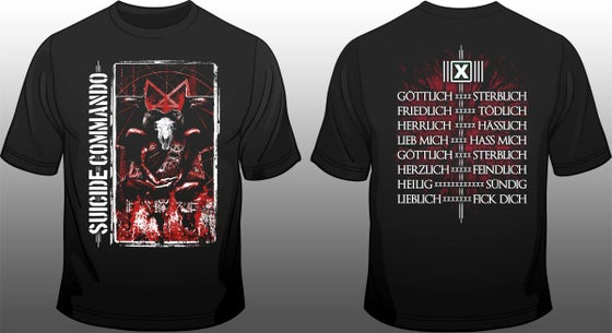 Image of SUICIDE COMMANDO The devil shirt