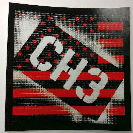 Image of CH3 Sticker