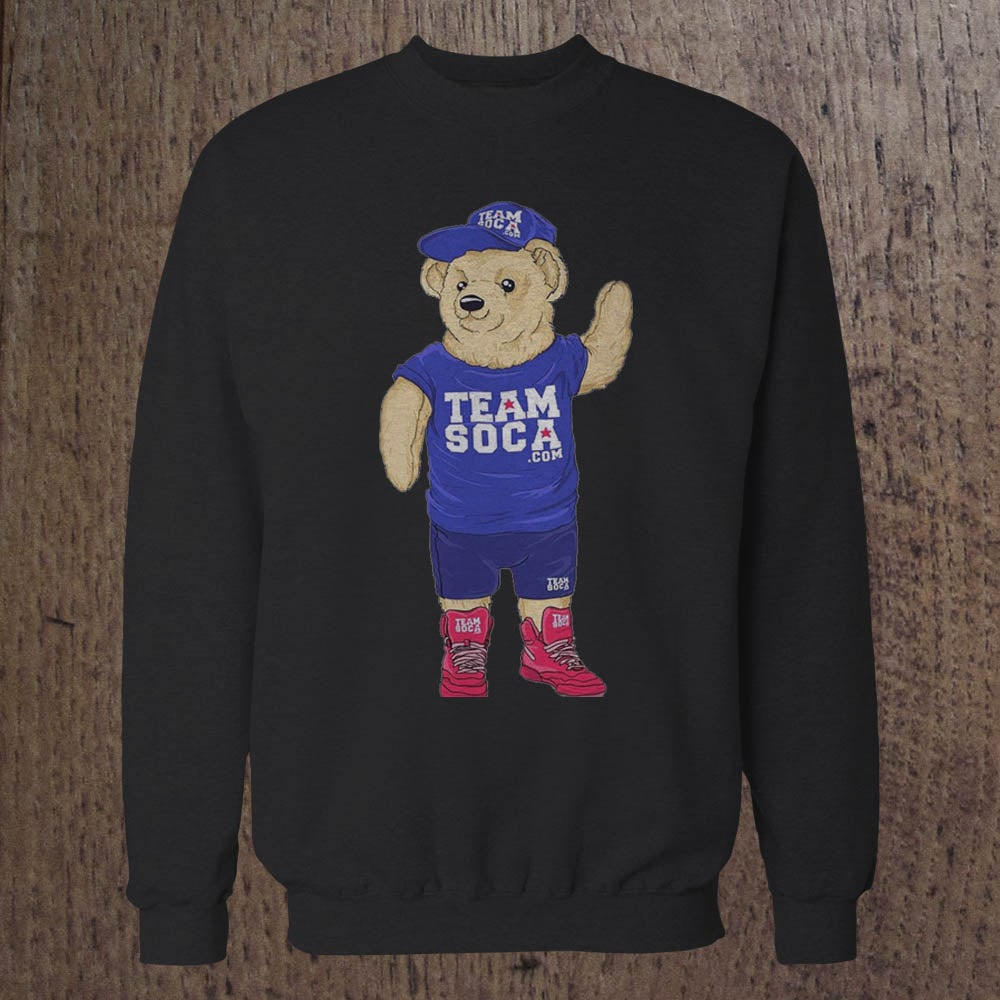 Image of Men & Women Team Soca Bear Crewneck