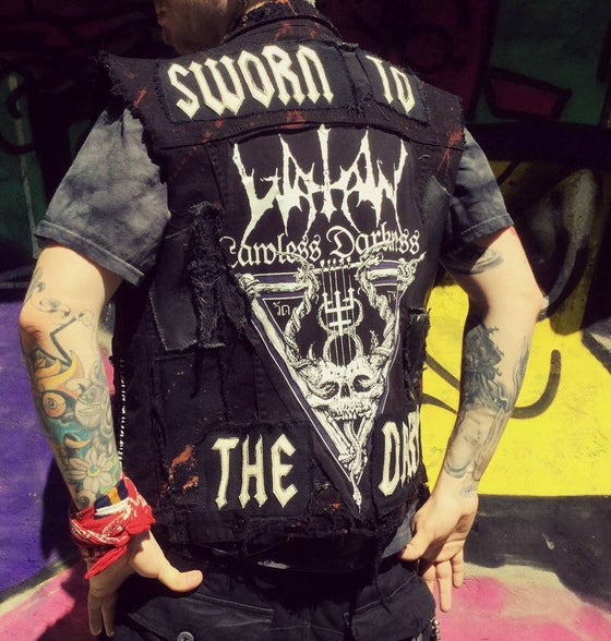 Image of Black Metal Vest