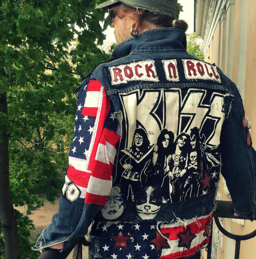 Image of Kiss Rock n Roll Jacket