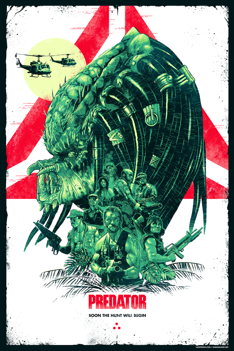 Image of PREDATOR - 30TH ANNIVERSARY - GREEN