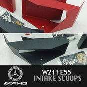 Image of PB5 - Mercedes W211 E55 Intake Scoops