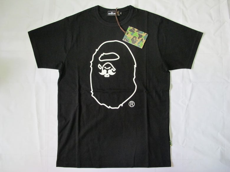 Image of A Bathing Ape (Bape) - Mr.Bathing Ape Tee (Black)