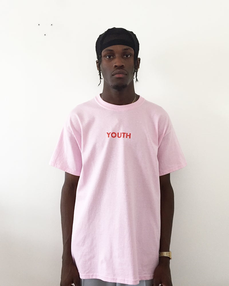 Image of Youth Club T Shirt - Pink