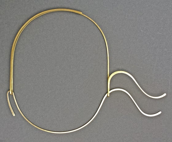 Image of Cosine Curve Necklace