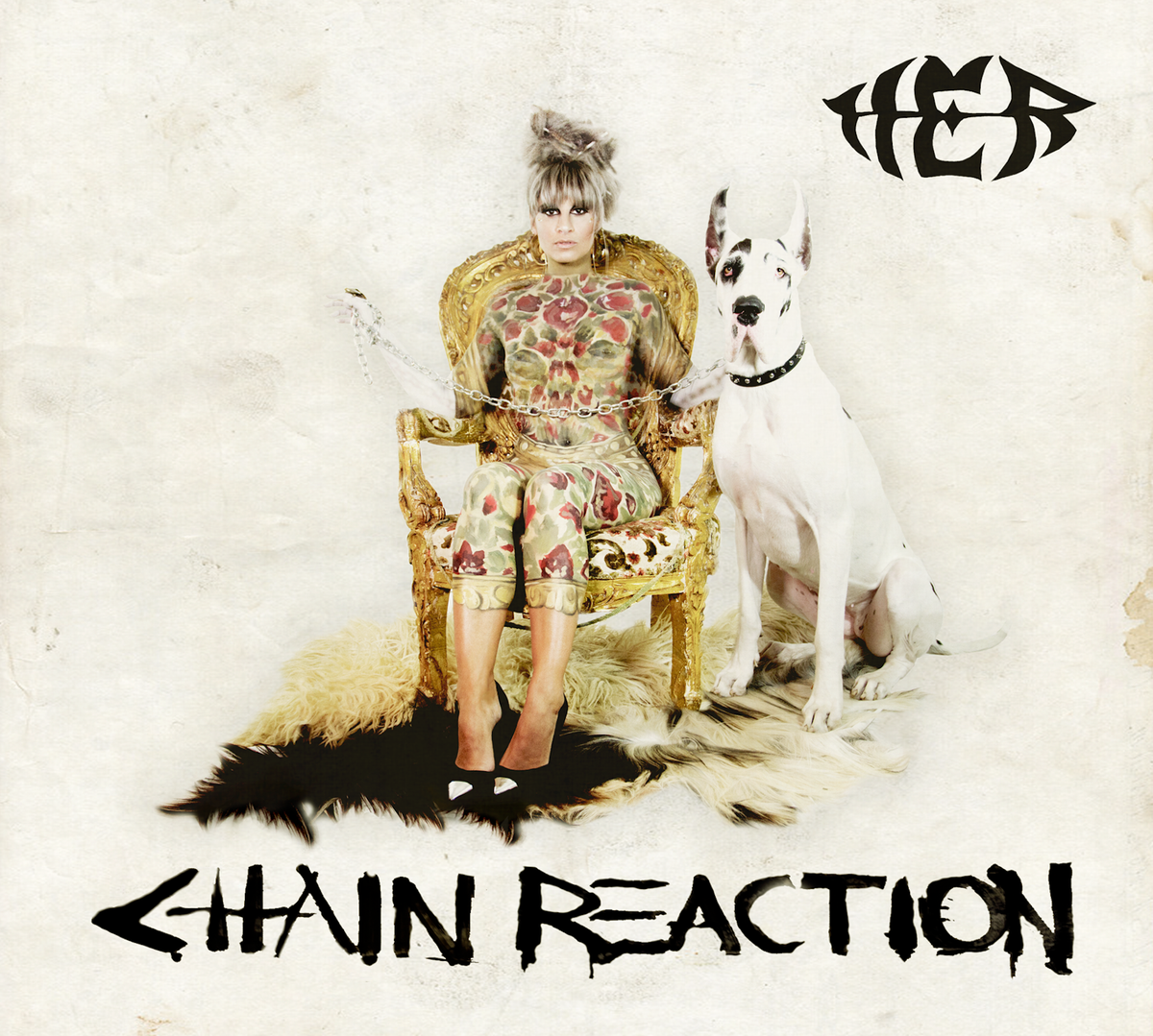 "Image of SIGNED & Personally KISSED by HER ""CHAIN REACTION"" on Vinyl LP"