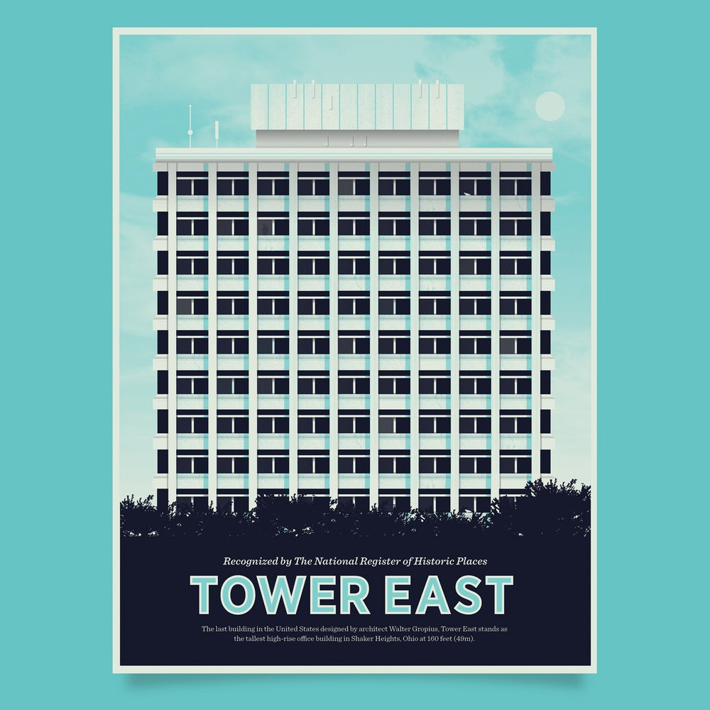 Image of Tower East Poster