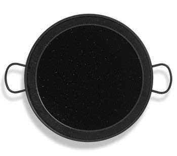Image of Enamelled Steel Paella Pans, made in Spain , MANY SIZES AVAILABLE