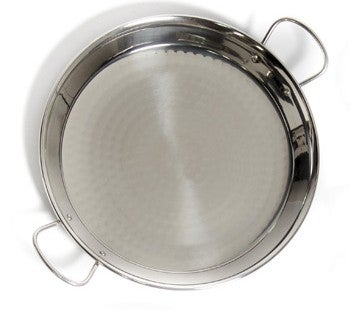 Image of Stainless Steel Paella Pans 18/10 made in Spain , MANY SIZES AVAILABLE