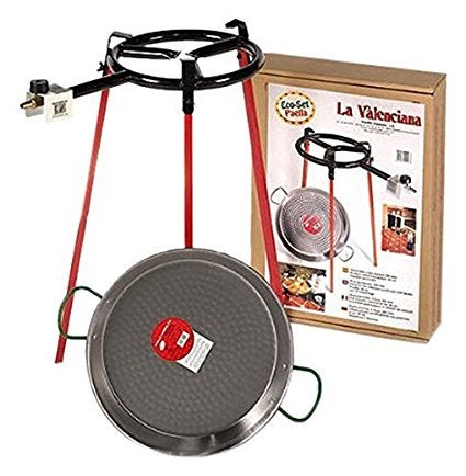 Image of Paella Cooking Sets, made in Spain , MANY SIZES AVAILABLE