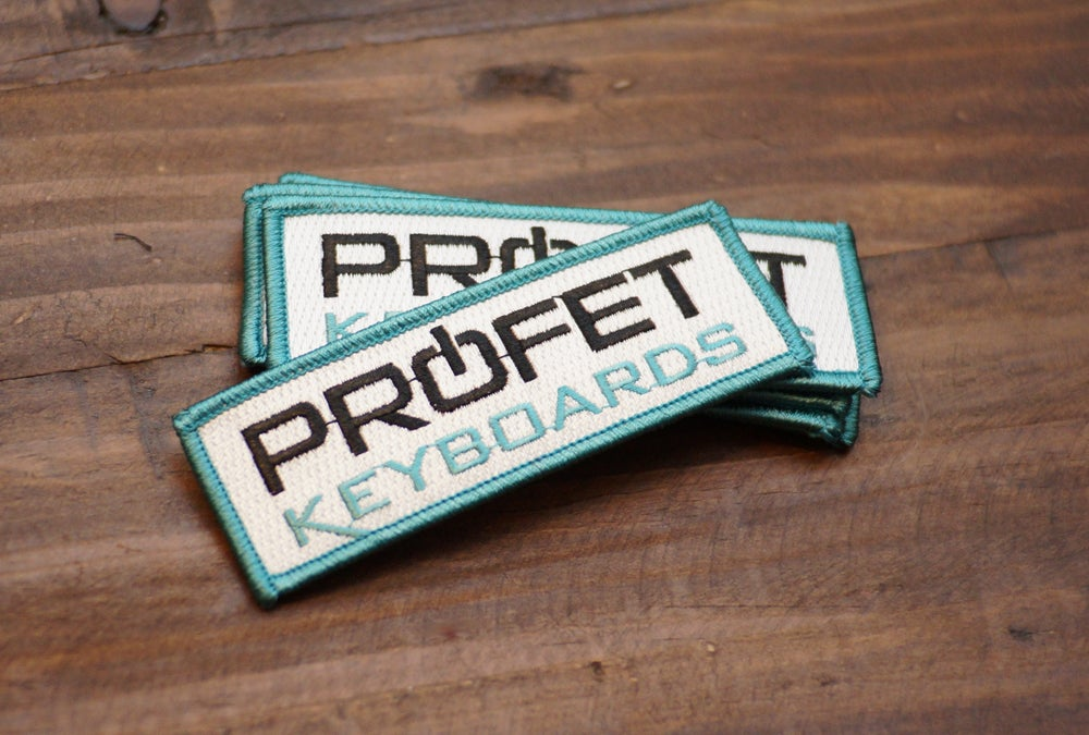 Image of Profet Keyboards Logo Patch