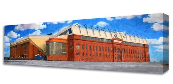 Image of Ibrox Stadium - Watercolour Design