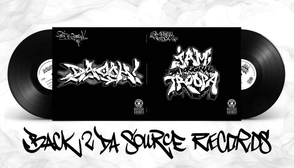 Image of Jam DOT - Da Original Troopa EP / Da Ooh! - Lost In Queens EP (2xLP Gatefold) PRE ORDER NOW