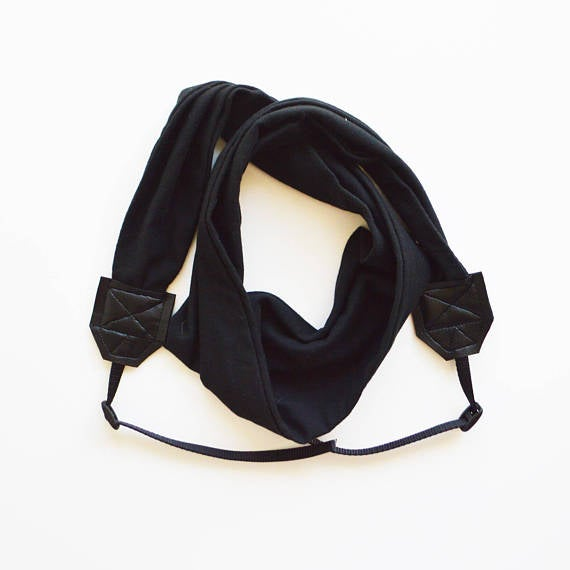 Image of Top Mod Scarf Camera Strap For Women Travel 2018